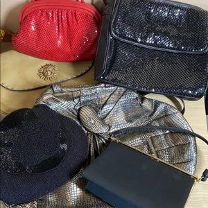 Bundle of 6 Vintage Bag